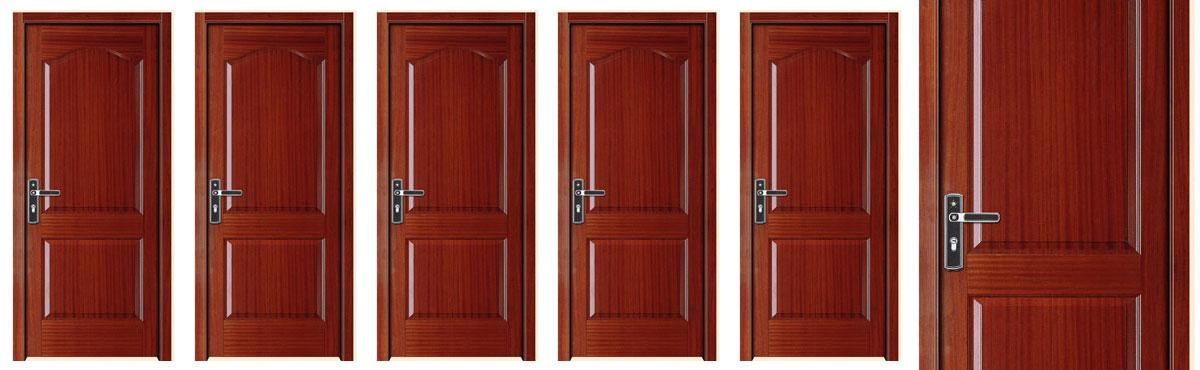 Puertas interiores en madera puertas de interior de for Puertas de madera interiores